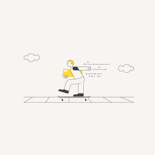 eCommerce Illustration: Delivery