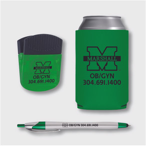 PROMOTIONAL DESIGN - Marshall University OB/GYN Promotional Items