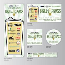 BrewGrass: Event Branding
