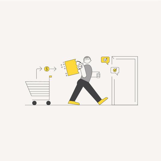 eCommerce Illustration: Purchase