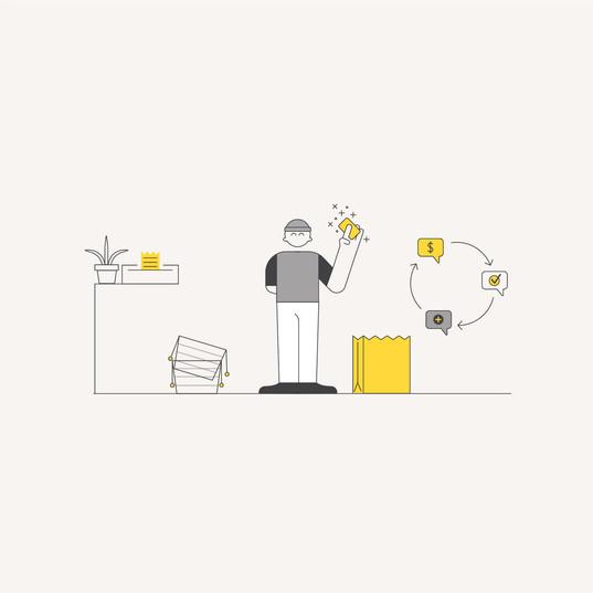 eCommerce Illustration: Payment
