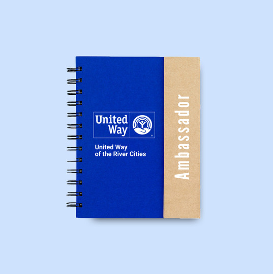 United Way Notebook