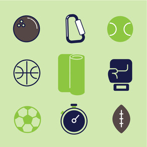 VECTOR ICON SET - Sports
