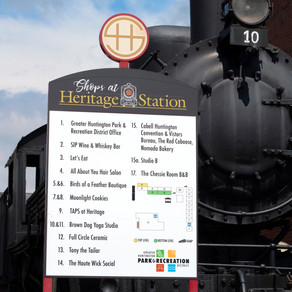 ENVIRONMENTAL DESIGN - GHPRD Heritage Station Directory Signage