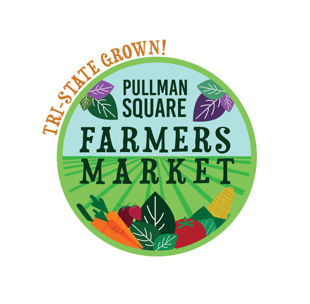 Pullman Square Farmers Market Logo