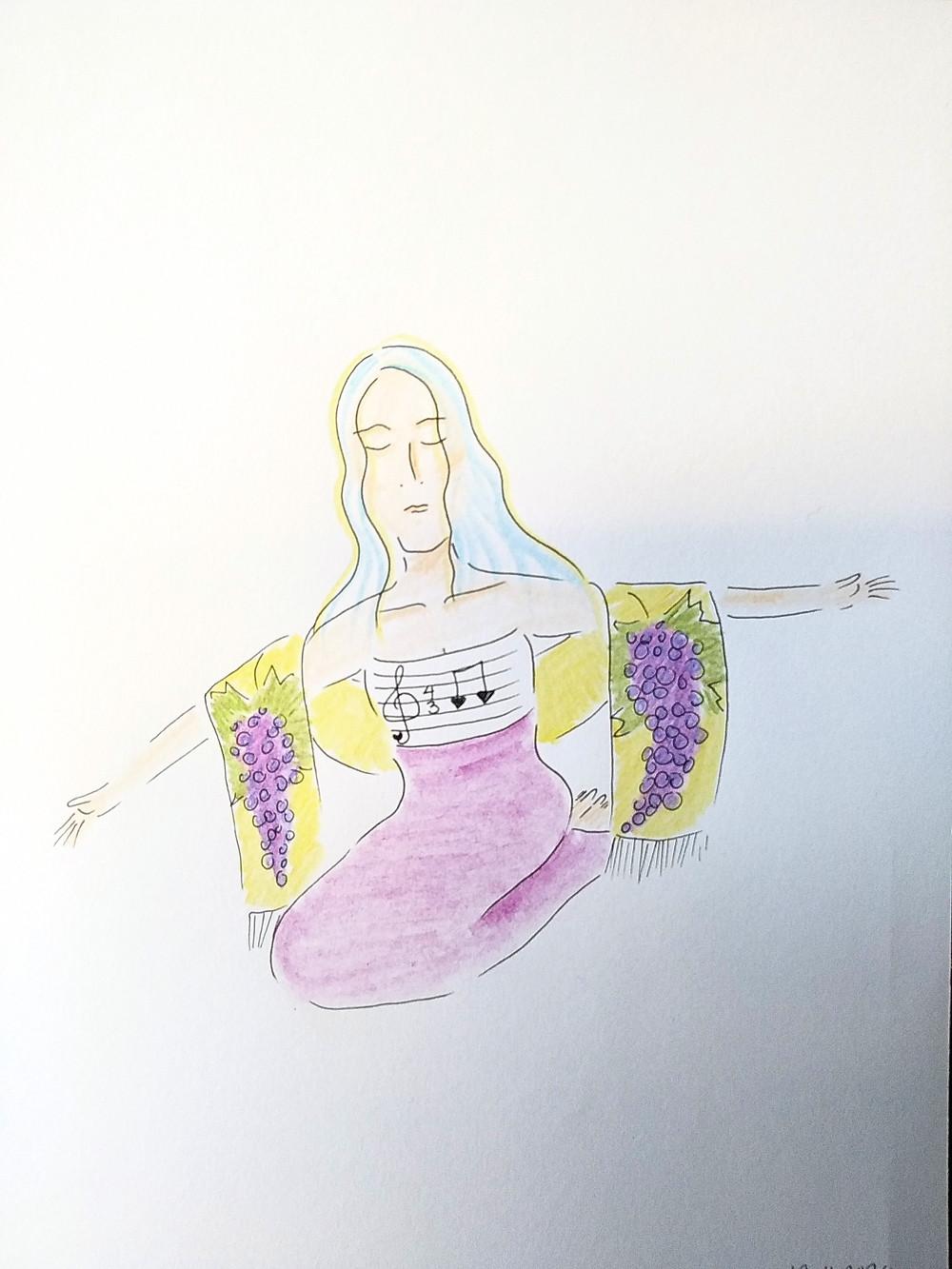 Illustration av Marie Ek Lipanovska
