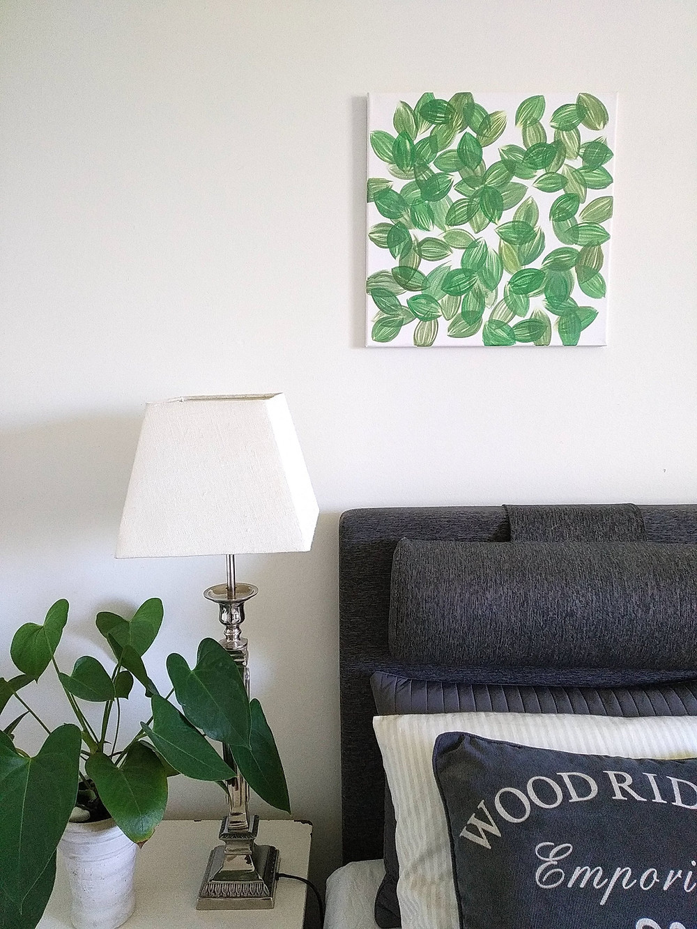 Painting by Marie Ek Lipanovska, Läkeblad för folken