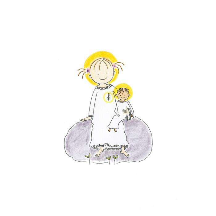 Sötnosen och Jesusbarnet.