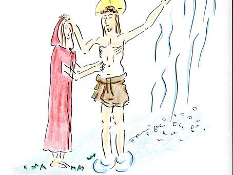 Jesus renar och helar