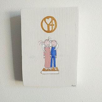 Handgjord ikon med för barn eller vuxna