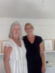 Ikonmålaren Anne-Marie Valton och konstnären Marie Ek Lipanovska