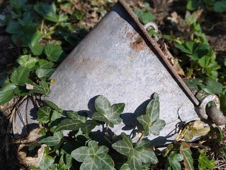 Från gravar till gropar att plantera i