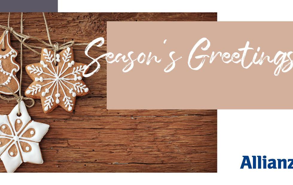 Weihnachtskarte Allianz Technology SE