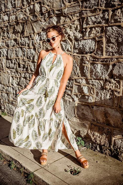furn pattern beach dress