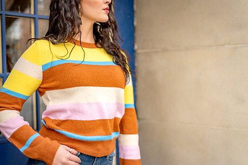 Multi Stripped Sweater