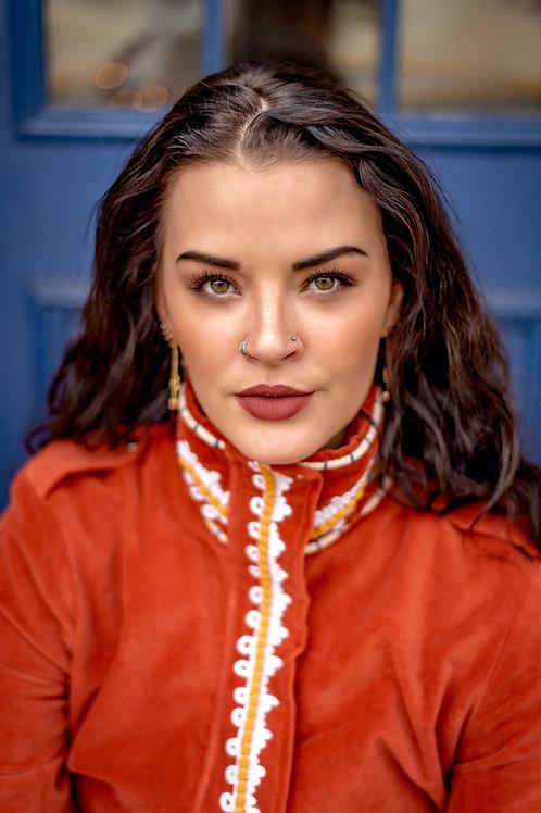 Amber Velvet Parka Jacket