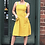 Thumbnail: Mustard Smock Dress