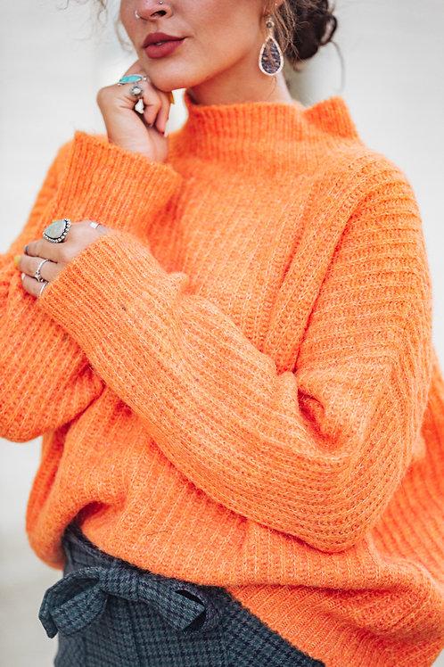 Tangerine Sweater