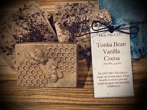Tonka Bean Vanilla Cocoa Soap Bar 4.25oz