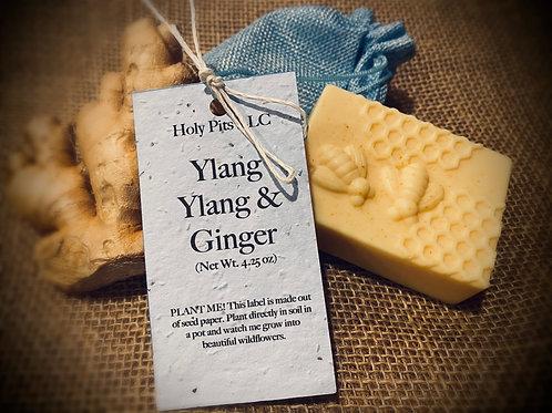 Ylang Ylang Ginger Soap Bar 4oz