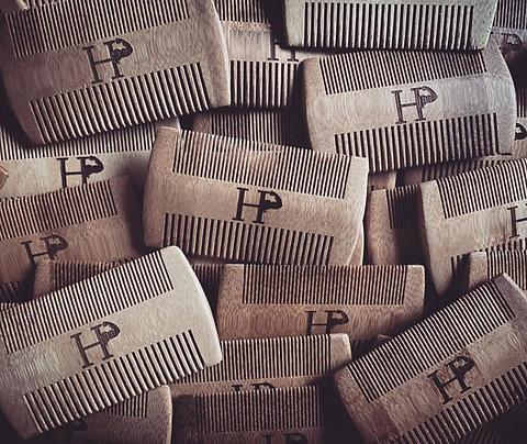 100% Bamboo Combs (Beard/Hair Comb)