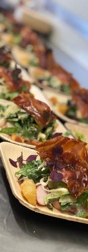 Smoked Chicken & Pancetta Salad