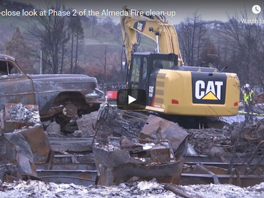 Jackson County debris cleanup update