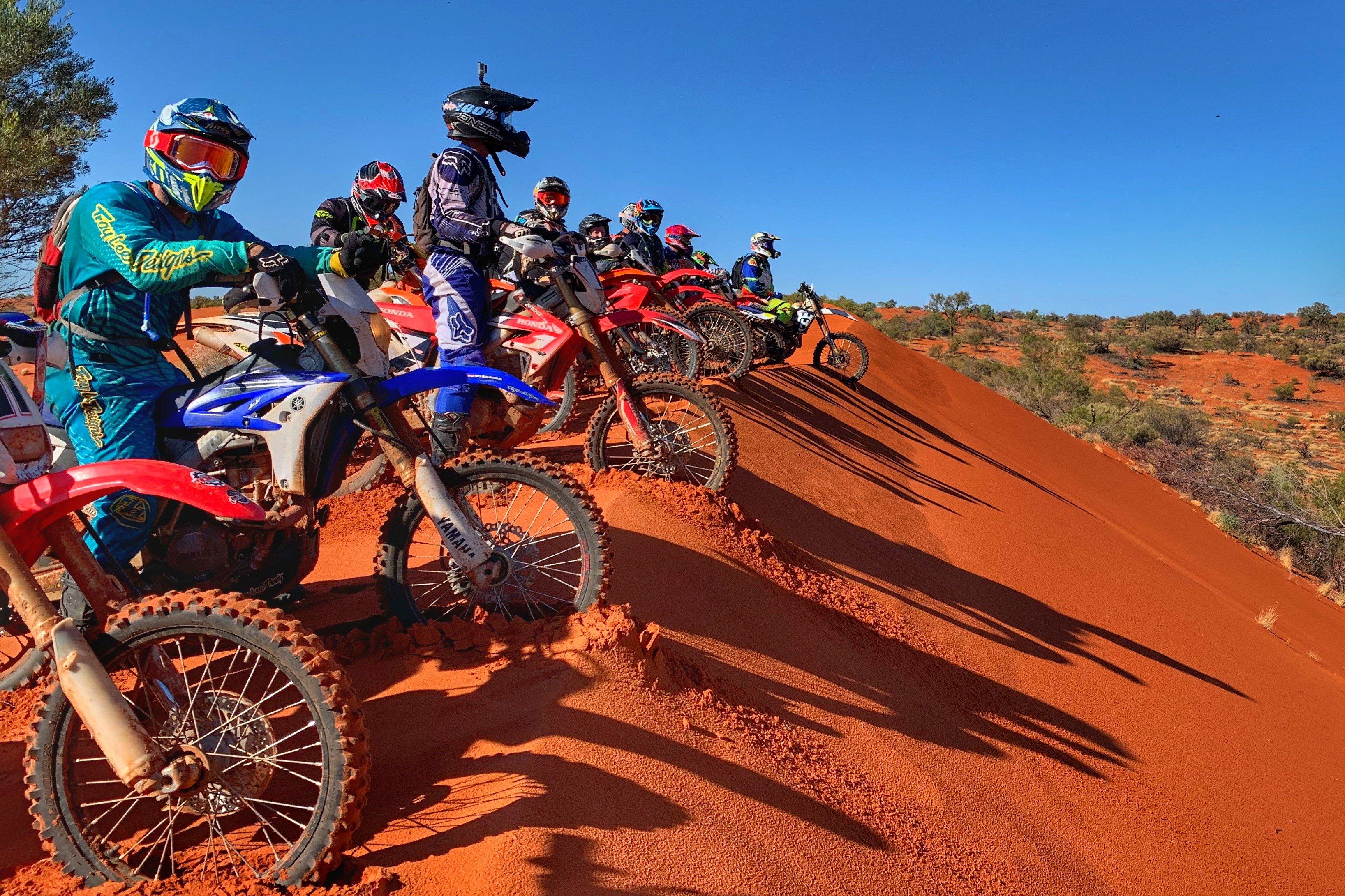 Simpson Desert Motorcycle Tour