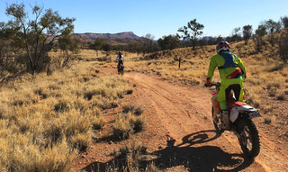 trail bike tours australia