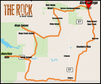 Rock 6 Day Route