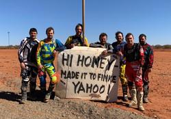 Dirt bike adventure tour