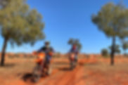 KTM Simpson Desert crossing