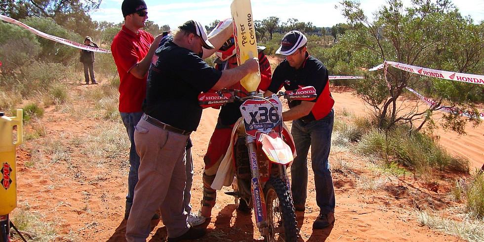 2018 Finke Desert Race Rider Support