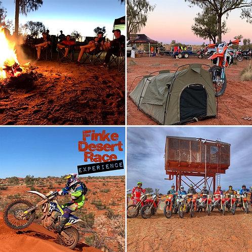 Finke Desert Race Experience - Repeat Customer B.Y.O Bike Balance