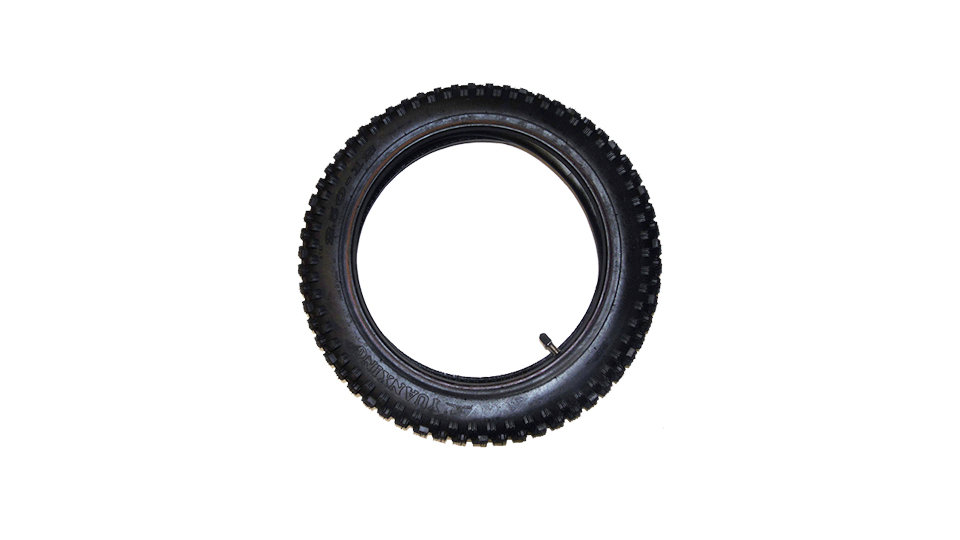 BUDGET TYRE WITH TUBE (VARIOUS SIZES)