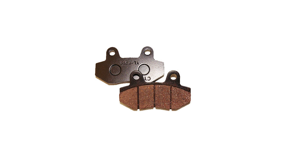 STOMP Front Brake Pads – Twin Pot (Fit SP Forks)