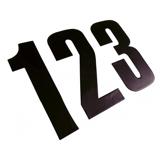 RACE NUMBERS (PACK OF 3)