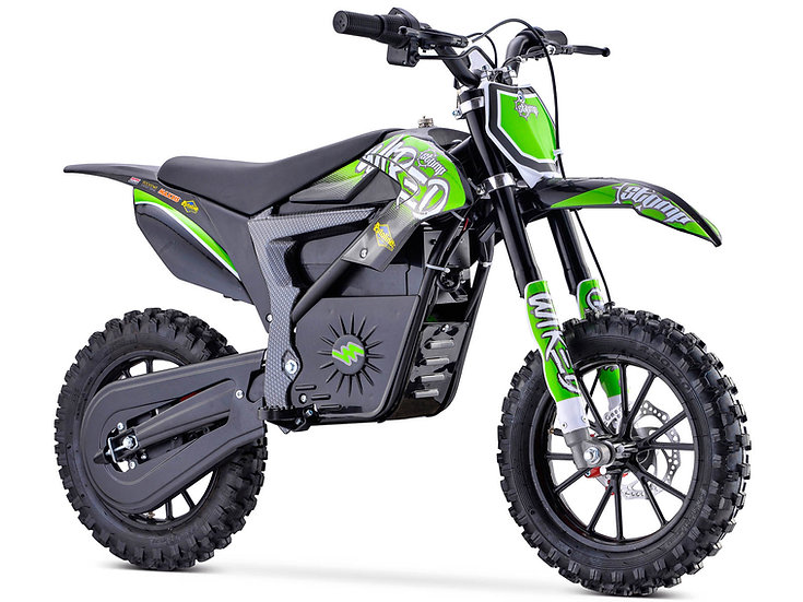 STOMP WIRED ELECTRIC PIT BIKE - GREEN