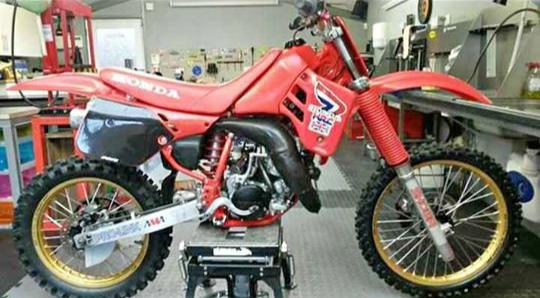 HONDA CR125 1988