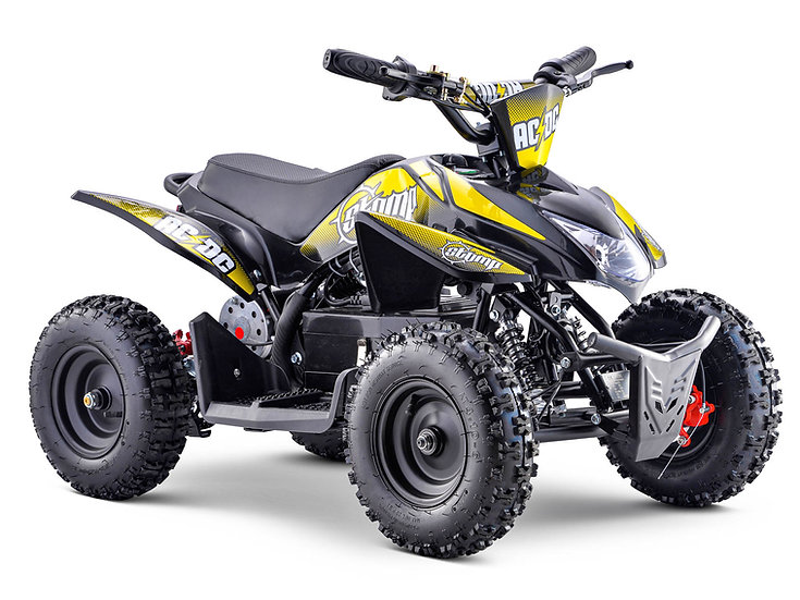 ACDC Electric ATV Neon Yellow