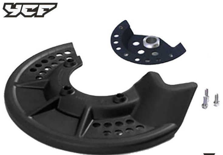 DISC PROTECTOR FRONT BLACK disc guard