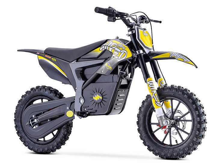 STOMP WIRED ELECTRIC PIT BIKE - YELLOW
