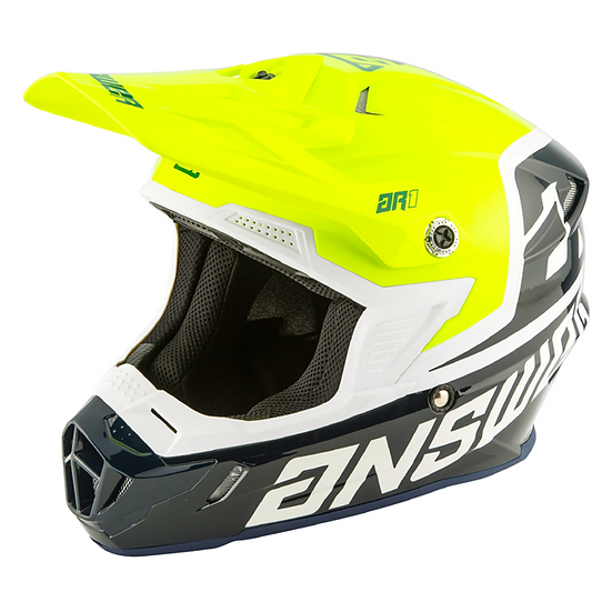 HELMET AR1 VOYD KID 2020 MIDNIGHT/HYPERACID/WHITE