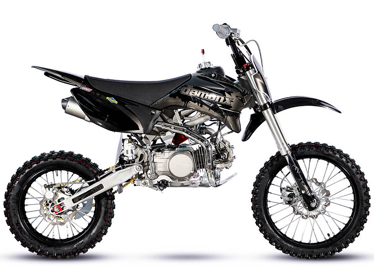 DemonX XLR2-140 Murdered Pit Bike BIG WHEEL