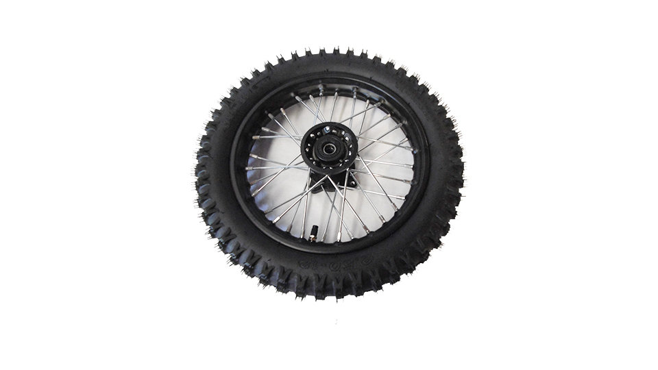 SDG WHEEL WITH TYRE 15MM AXLE (VARIOUS SIZES)