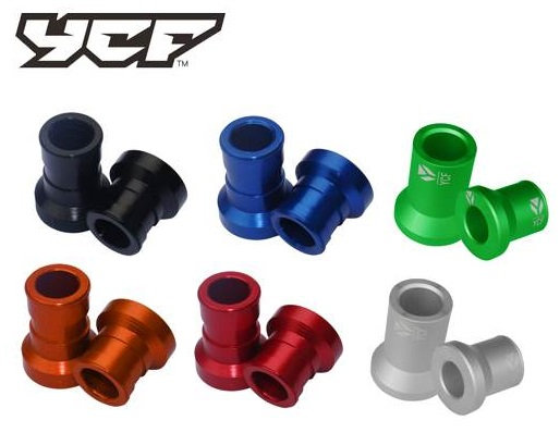 CNC REAR WHEEL SPACER SET -  (15 X 22 X 38 and 15 X 22 X 29)
