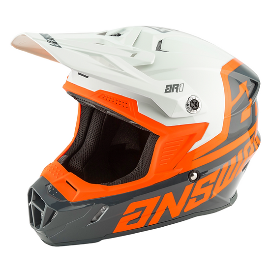 HELMET AR1 VOYD KID 2020 CHARCOAL/GREY/ORANGE