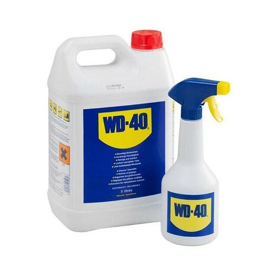 WD-40 MULTI-PURPOSE METAL LUBRICANT 5L & SPRAY BOTTLE