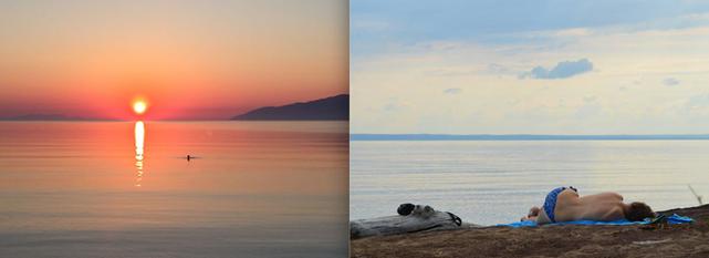 5H50- Lever du soleil, Grèce // Canada, Entre chien et loup- 18H10