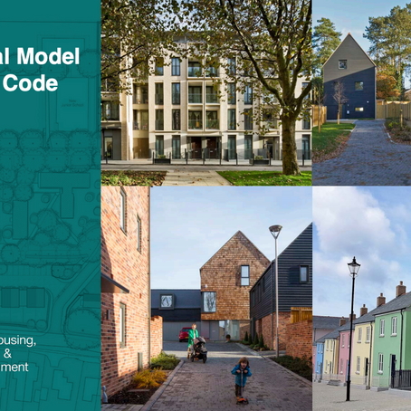 Local Authorities to receive £50,000 for National Model Design Code participation